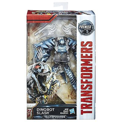 Transformers Mv5 The Last Knight Dinobot Slash Premier Edition Figure In Stock