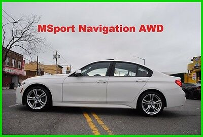 2016 BMW 3-Series 328i xDrive MSport M-Sport AWD F30 Turbo Nav Repairable Rebuildable Salvage Wrecked Runs Drives EZ Project Needs Fix Save Big