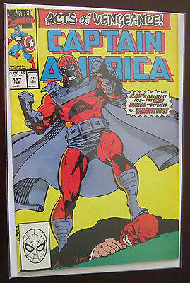 Captain America (1990 1st Series) #367, DIRECT EDITION 7.0