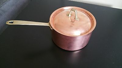 Classic Paul Revere Ware 2 Qt Copper 1801 Signature Limited Stainless Steel