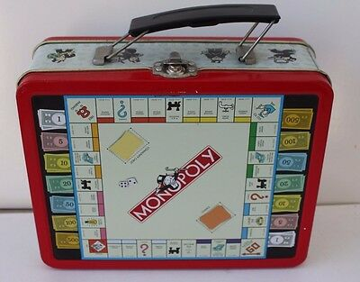 Monopoly 1998 Lunchbox Collectors Series Retro Reproduction Tin Metal #3054