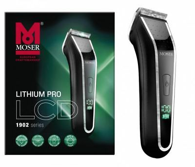 Rasoio Moser Lithium Pro Lcd Batteria A Litio Made In Germany Reviel