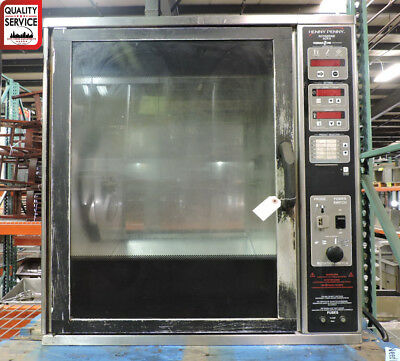 Henny Penny SCR-6 Commercial 6-Spit Countertop Rotisserie