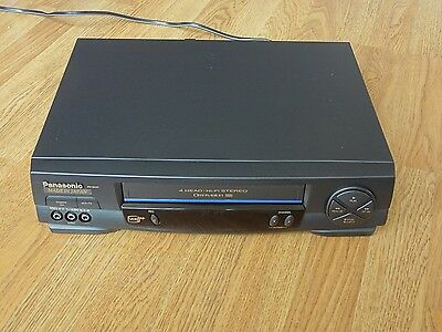 Panasonic PV-V9451 Omnivision VHS VCR Player & Recorder with Remote Control