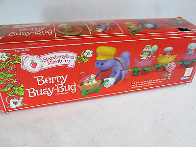 Vintage 1982 Kenner Strawberry Shortcake Berry Busy-Bug  ***box only***