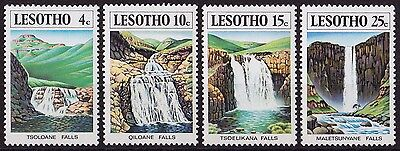 LESOTHO : 1978, Waterfalls (Complete set of 4, MNH)