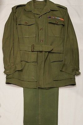 Canadian Korean War Era Bush Dress and Pants