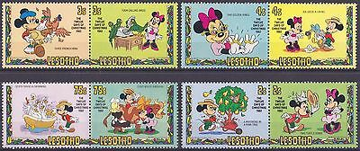 LESOTHO : 1982, Christmas (Complete set of 8, MNH)