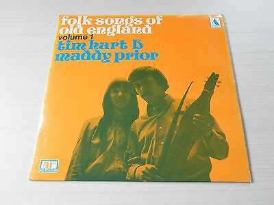 Folk Songs Of Old England By Tim Hart And Maddy Prior Vol 1 Lp Tepee Adrhythm 69