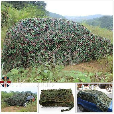 3m X 2m Tissu Oxford Camouflage Filet/Camouflage filet Chasse/chasse Hide Armée