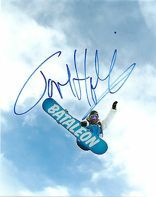Team Norway Snowboarder Tore Holvik Signed Autographed 8x10 COA