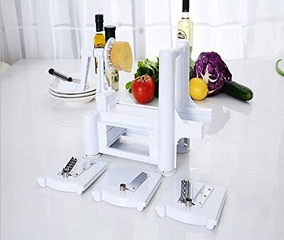 Heavy Duty Curly French Fry Vegetable Spiral Cutter Slicer Potato Twister