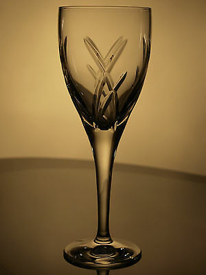 Waterford Crystal Signed John Rocha Signature Red Wine Glass, New