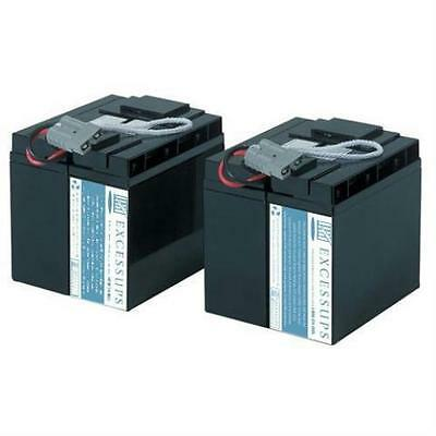 New Replacement Battery Pack For Apc Smart-Ups 208V Su1400Xltnet