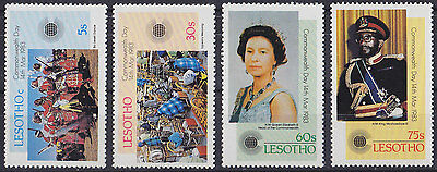 LESOTHO : 1983, Commonwealth Day (Complete set of 4, MNH)