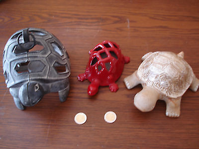 3  Tortue Lot 3  Tortue  Collection