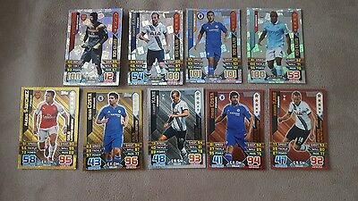 Topps match attax 15/16 limited edition and  100 club pick 1