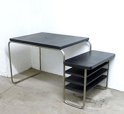 bauhaus art deco stahlrohr schreibtisch eur 790 00. Black Bedroom Furniture Sets. Home Design Ideas