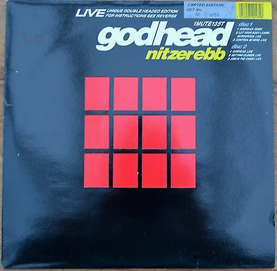 """NITZER EBB Godhead LIVE 2 x 12"""" Numbered LIMITED EDITION Unique Double Edition"""
