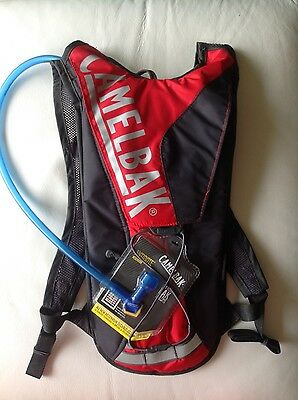 Camelbak Classic Antidote Reservoir 2L Black & Red NEW