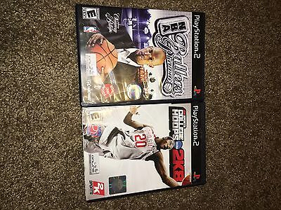 College Hoops 2K8 (Complete) (Sony PlayStation 2, 2007) & Ballers Phenomenon NBA