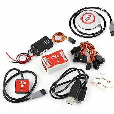 DJI Naza-M Lite Flight Controller System Complete GPS Version w/ BEC LED Compass