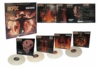 AC/DC - Radio Lucifer: The Legendary Broadcasts 1981-'96 4 Disc Clear Vinyl Box