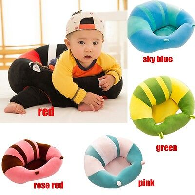 Cute Baby Support Seat sit up Soft Chair Pillow Cushion Sofa Plush Toys Cotton