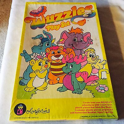 Vintage 1985 Colorforms Wuzzles Play Set #682 - Sealed