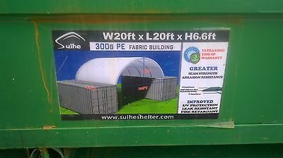 20ft shipping container cover