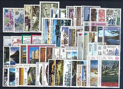 Cept Europa 1977 ** annata completa MNH year beautiful and complete collection