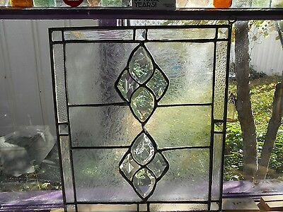 Stained Glass Window Panel Suncatcher   Beveled Beauty