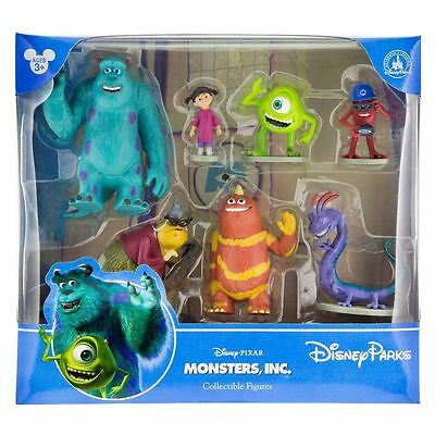 MONSTERS INC Figurine Play Set/Cake Toppers Toys - Disney Store