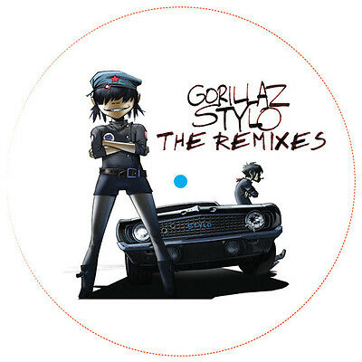 "Gorillaz "" Stylo "" The Remixes 12"" Promo ** Coloured Vinyl **"