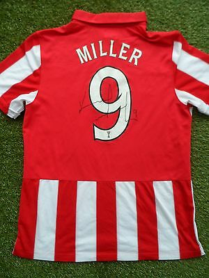 Kenny Miller #9 Hand Signed Name & Number Glasgow Rangers Shirt - COA  Autograph