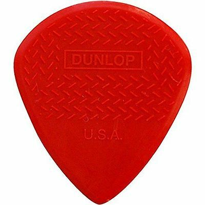 Dunlop 471R3N Red Nylon Max Grip Jazz III Bag of 12