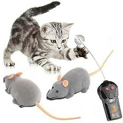 Remote Control Wireless Controller RC Rat Mouse Mice Hameln Animal Toys For Cat