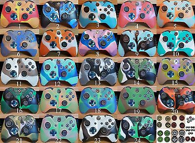 Xbox One Camouflage Silicone Controller Cover 24 Styles Protective Skin from U.K