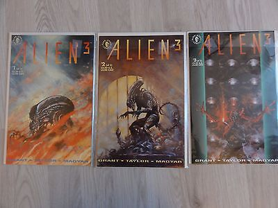 Alien 3 #1-3 Dark Horse Comics Aliens