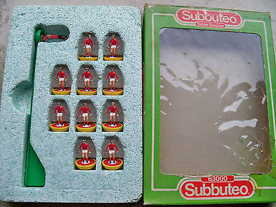 Subbuteo Team As Roma Lw Ref N.93 Players Very Good Conditions Ref Box Just Good