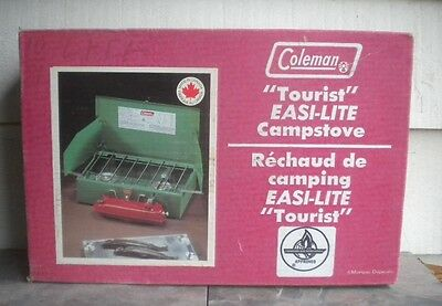 Collectors Vintage New Never Opened Coleman 431 Easi-Lite Tourist Camp Stove