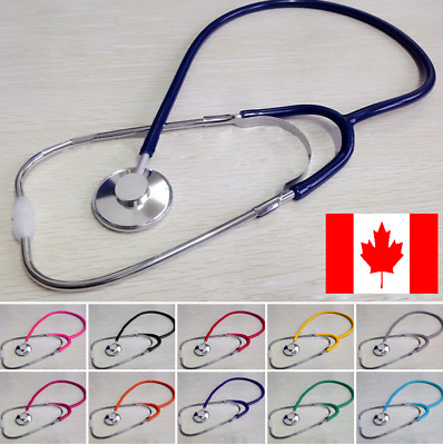 Chrome EMT Stethoscope Doctor Nurse First Aid Vet Medical Blood
