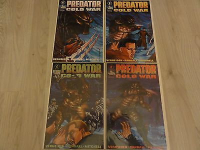 Predator Cold War #1-4 Dark Horse Comics