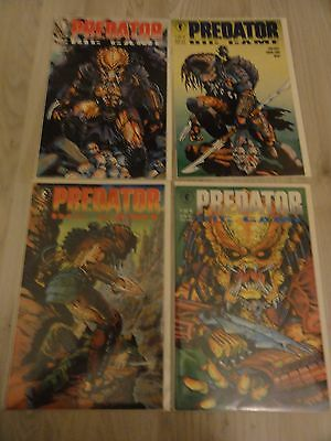 Predator Big Game #1-4 Dark Horse Comics