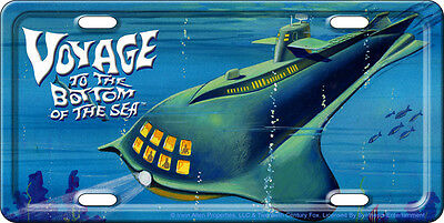 VOYAGE TO THE BOTTOM OF THE SEA Tag Irwin Allen Seaview / Lost in Space plate