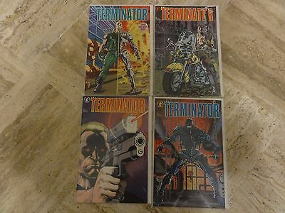 The Terminator  #1-4 Dark Horse Comics