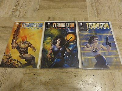The Terminator  EndGame #1-3 Dark Horse Comics