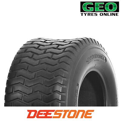 15x6.00-6 D265 (4 PLY) Deestone Turf Block Riding Mower Tyre 15 X 600 X 6