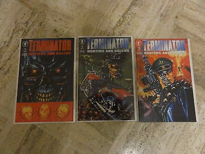 The Terminator  Hunters and Killers #1-3 Dark Horse Comics