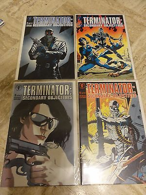 The Terminator Secondary Objectives  #1-4 Dark Horse Comics